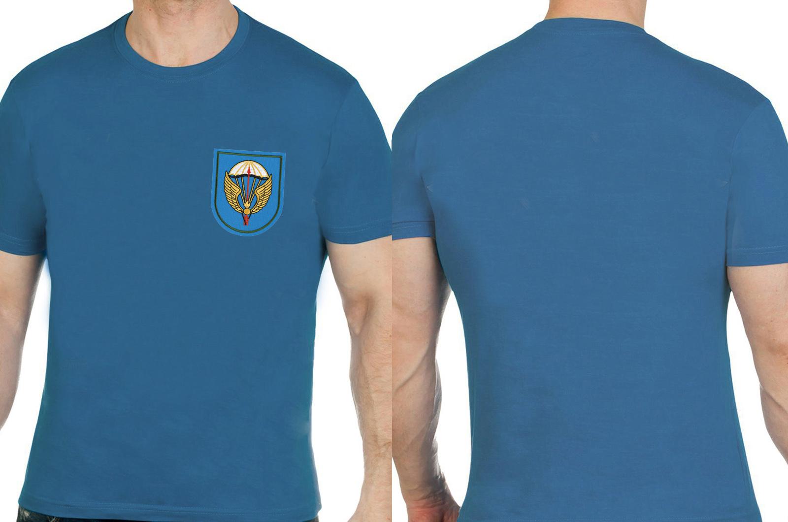Трендовая хлопковая футболка с вышивкой ВДВ 31 ОДШБр - купить по низкой цене