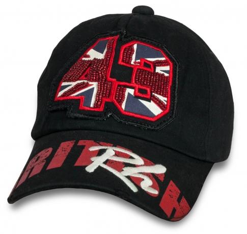 Трендовая мужская бейсболка British Rh.