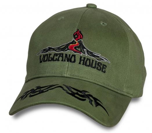 Трендовая мужская бейсболка Volkano House