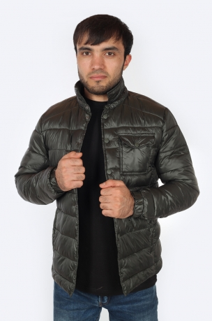 Трендовая мужская куртка Jeans Wear (США).