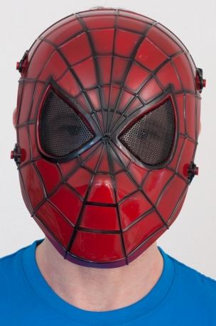 """Ударопрочная маска """"Человек паук"""""""