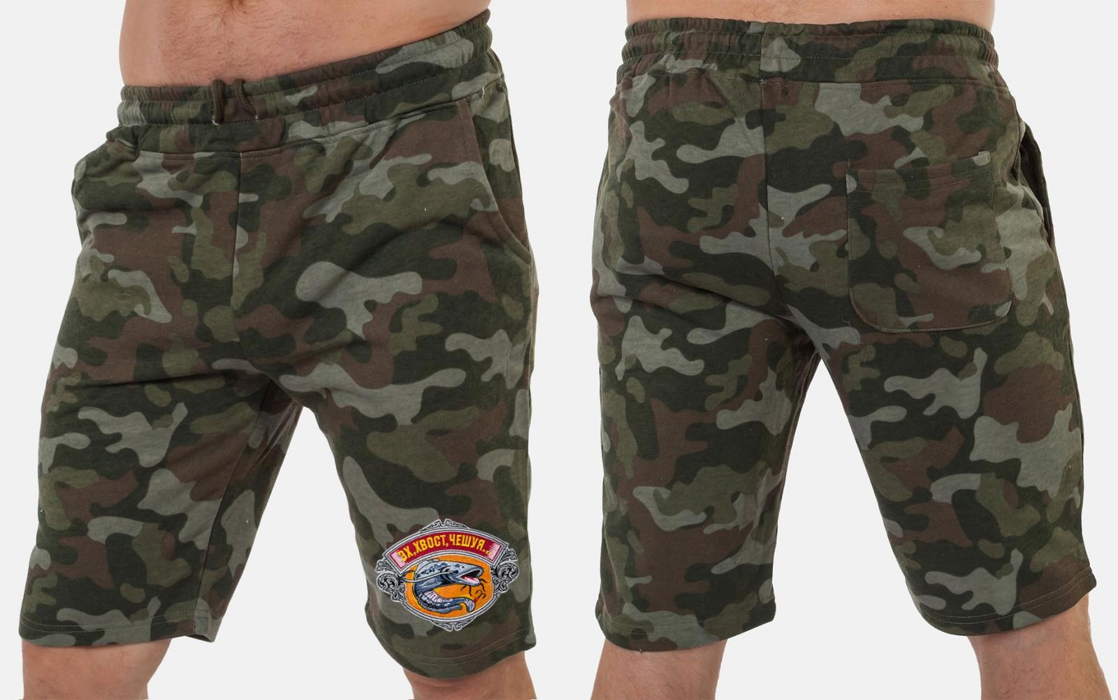 Удлиненные мужские шорты для рыбалки заказать в Военпро