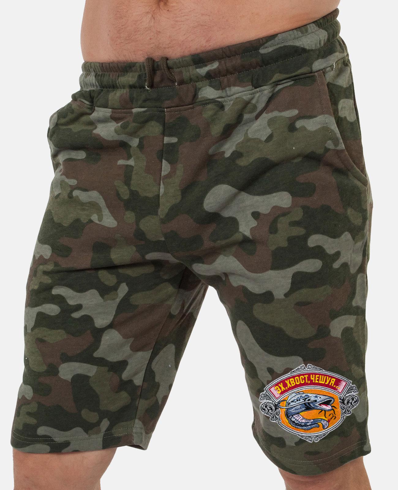 Удлиненные мужские шорты для рыбалки