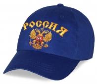 Удобная современная высококачественная кепка с принтом государственной символики «Россия» которую с удовольствием оценят все болельщики по низкой цене