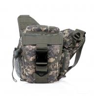 Удобная тактическая сумка через плечо с защитой от влаги