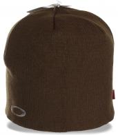Удобная женская шапка кофейного цвета. Приятная модель для спорта, отдыха и на каждый день