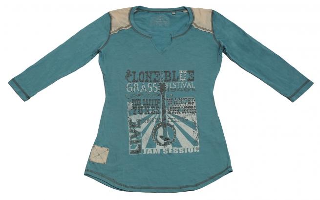 Ультрамодная голубая молодежная кофточка бренда Panhandle Slim