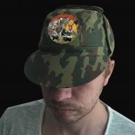 Универсальная камо кепка с шевроном Росгвардии
