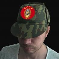Универсальная камо кепка с термотрансфером СССР