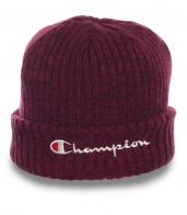 Универсальная мужская шапка Champion с отворотом  неустрашимым фанатам зимнего спорта