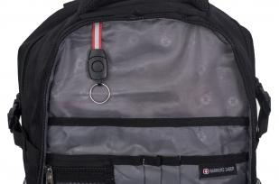 Универсальный черный ранец-рюкзак МВД - заказать в подарок