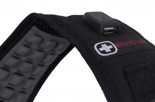 Универсальный черный рюкзак с военной нашивкой РВСН - купить с доставкой