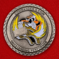 USAF Fire Protection 23rd Civil Engineer Squadron Moody AFB Challenge Coin