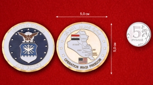 USAF Operation Iraqi Freedom Challenge Coin