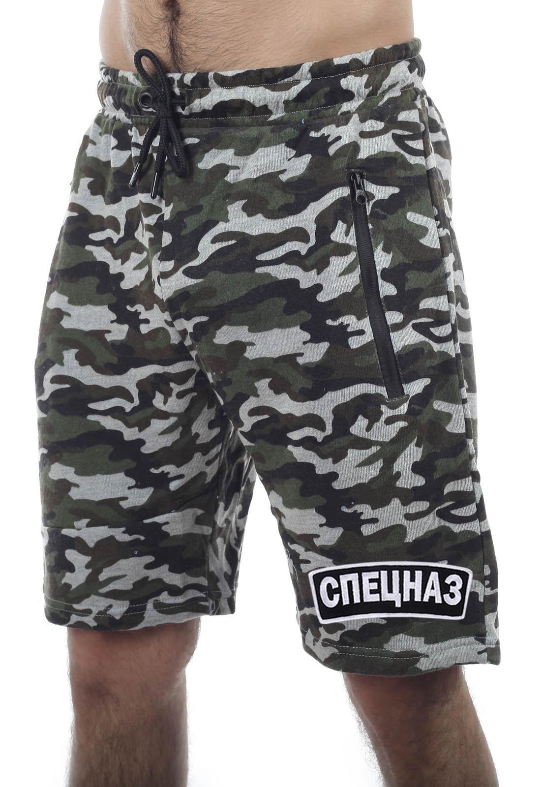 Купить в военторге Военпро камуфляжные шорты Спецназа РФ