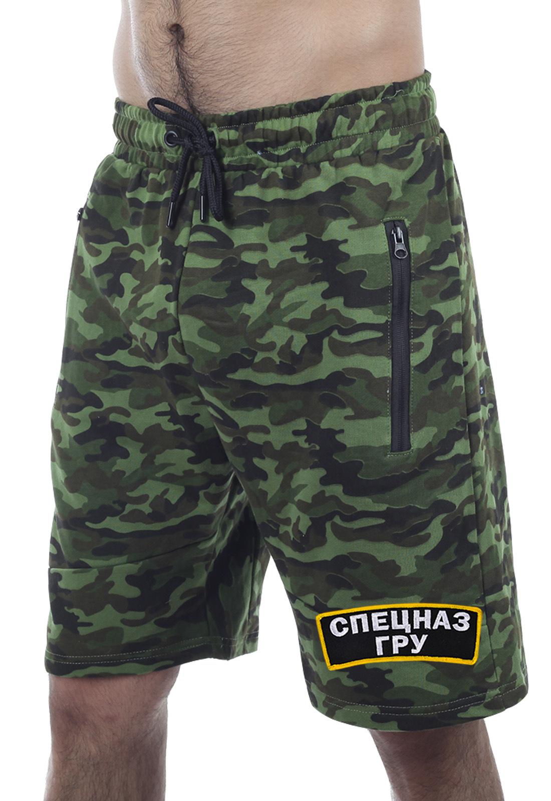 Купить камуфлированные мужские шорты Спецназа ГРУ
