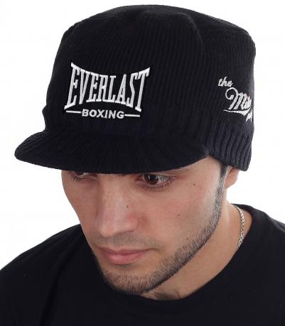 Фанатам Муай Тай и спортсменам! Утеплённая мужская шапка на сезон осень-зима. Фирменная нашивка Everlast и знак качества Miller Way. ЗАБИРАЙ! Зима длинная, а количество ограничено