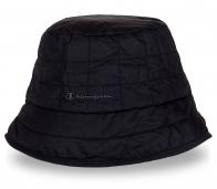 Утепленная шляпа темного цвета