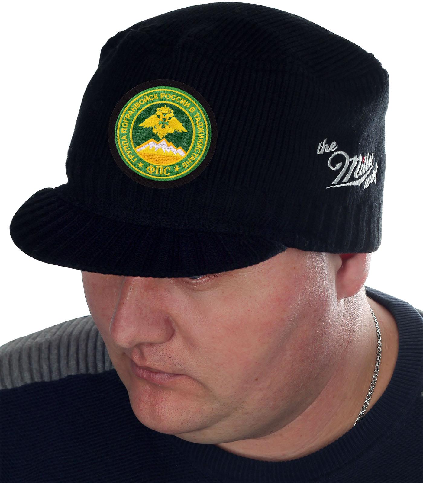 Утепленная стильная шапка с козырьком от Miller - заказать онлайн