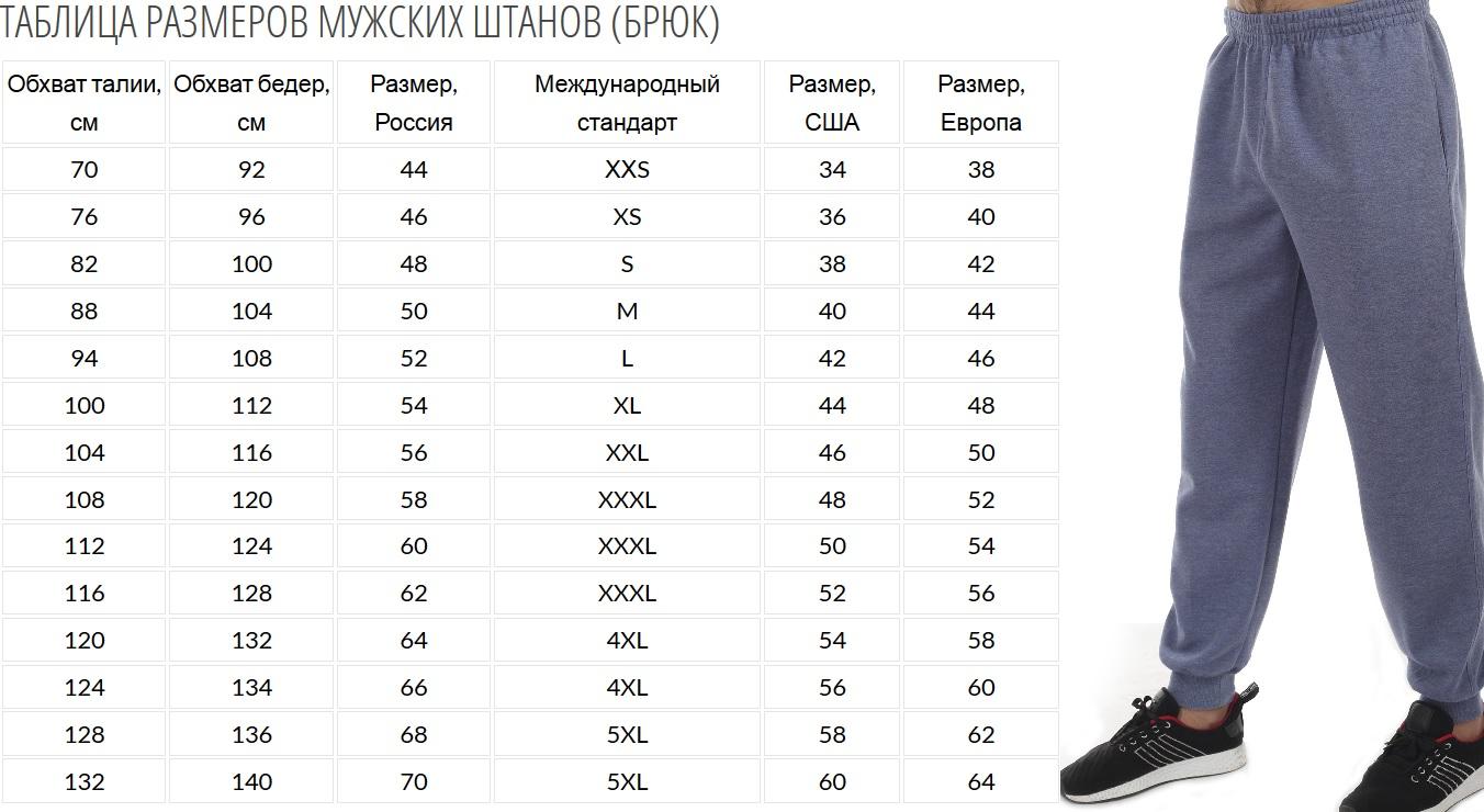 Утепленные мужские спортивные штаны с гербом России.