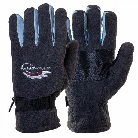 Утепленные зимние перчатки из флиса (Overdrive)