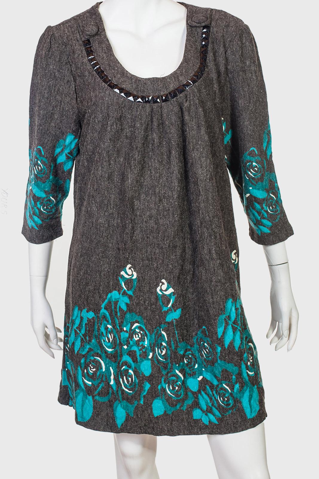 Уютное очаровательное платье с цветочными мотивами от YOURS