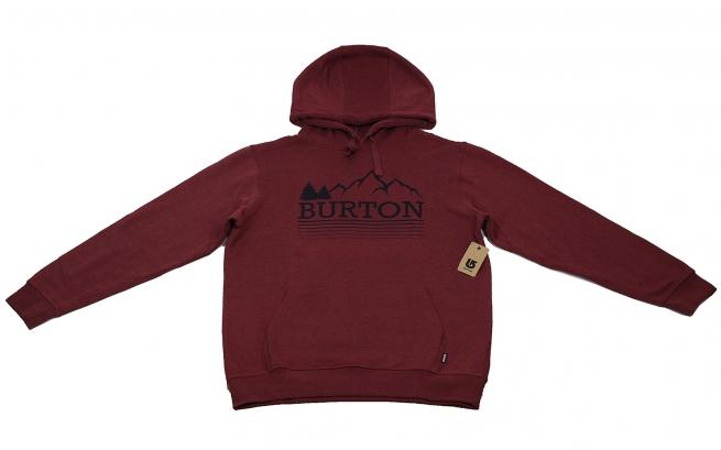 Великолепный худи от мирового бренда BURTON фанатам спорта