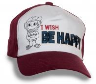 Веселая кепка Happy Monkey!