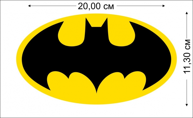 """Виниловая наклейка """"Бэтмен"""""""