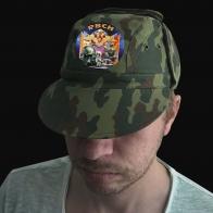 Военная мужская кепка с эмблемой РВСН