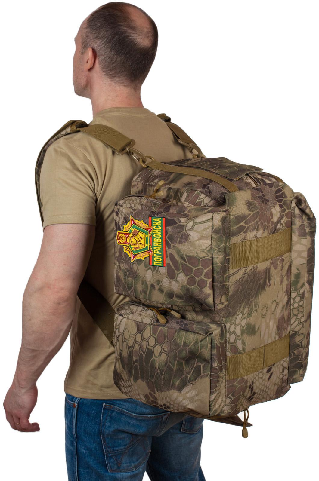 Купить военную сумку для походов Погранвойск по лучшей цене