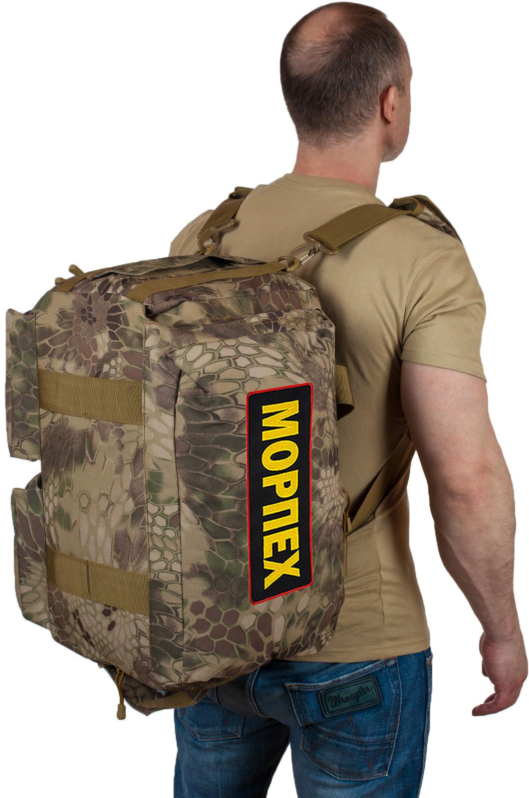 В продажу поступила сумка-камуфляж российской Морской пехоты