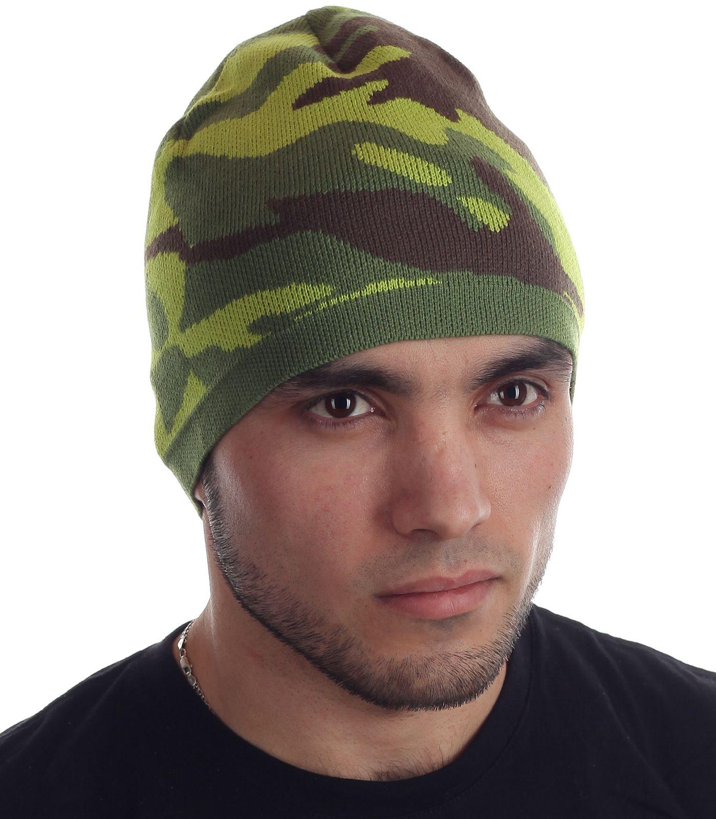 Купить вязаную шапку рыбака