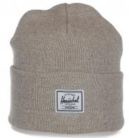 Высококачественная женская шапка с высоким отворотом бренда Herschel современная модель