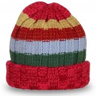 Цветная шапка UNISEX в полоску – отвязная молодежная модель