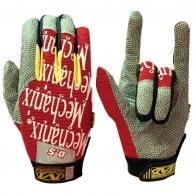 Яркие чопперские перчатки от крутого бренда Mechanix wear