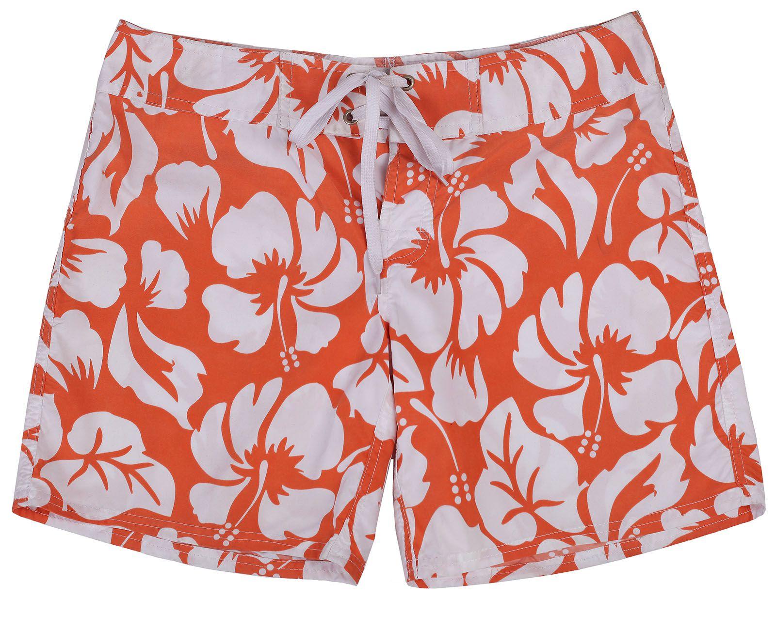 Яркие пляжные шорты для летнего отдыха