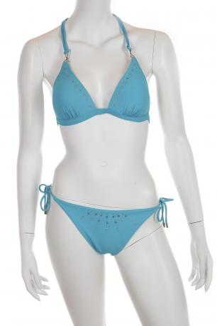 Ярко-голубой купальник от Faba.
