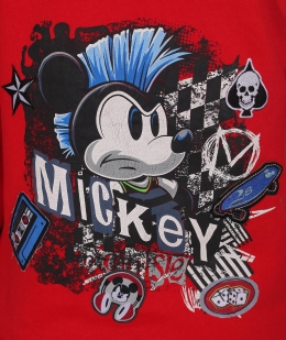 Яркое женское кенгуру Disney® Mickey Mouse (США) - принт на спинке