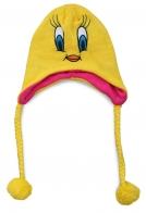 Забавная детская шапка Поночка. Теплая флисовая подкладка защитит от холода, а яркий дизайн очарует каждую модницу