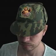 """Зачетная кепка """"Живу в России"""""""