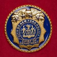 Запонки начальников отделов полиции Нью-Йорка