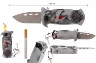 Зажигалка-нож с фиксатором