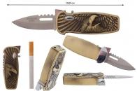 Зажигалка Нож выкидной