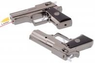 """Зажигалка """"Пистолет"""" с лазером"""