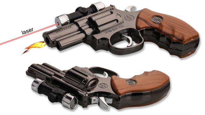Зажигалка револьвер MAG NOM