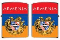 "Зажигалка ""Флаг Армении"""