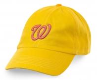 Желтая бейсболка унисекс