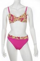 Желто-розовый купальник Olympia.