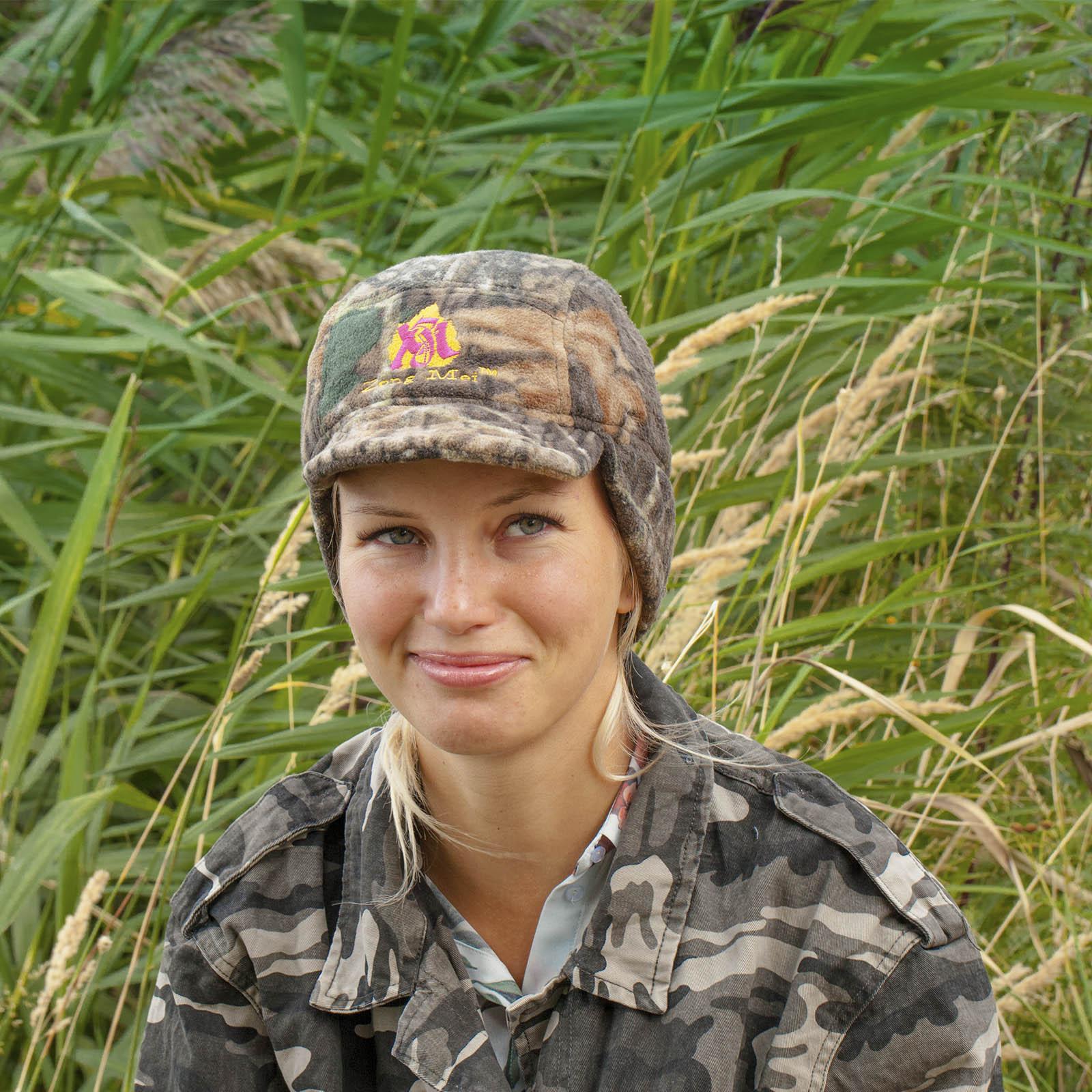 Недорогая зимняя женская шапка Zong Mei